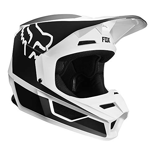 Fox Helm V-1 Przm Black/White, Größe M - Black Fox