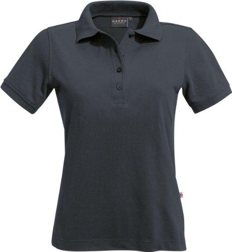 """HAKRO Damen Polo-Shirt """"Classic"""" - 110 - graphite - Größe: XL"""