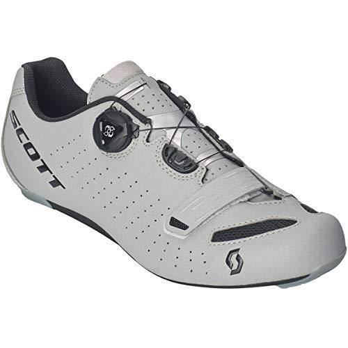 Scott Road Comp Boa Rennrad Fahrrad Schuhe Reflective grau/schwarz 2019: Größe: 46