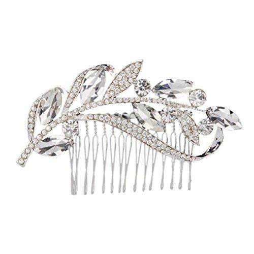 WINOMO Zarte Hochzeit Braut Strass Haar Kamm Clip Haarnadel Hair Pin Strass Haar - Braut-haar Pins