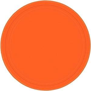 Amscan Internacionales Placas 22.8cm (Orange Pl)