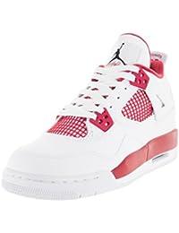 Nike Air Jordan 4 Retro BG Zapatillas de deporte, Niños