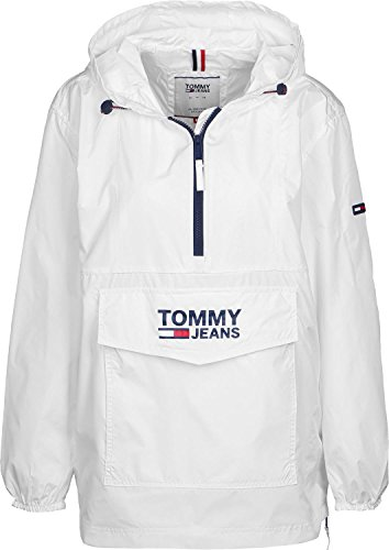 Tommy Jeans Popover W Windbreaker bright white (White Denim Jean Jacke)