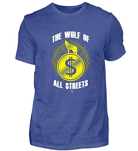 The Wolf of All Streets Dolar USD Geld US-Dolar Kurs Exchange Rate Geschenk Geschenkidee - Herren Shirt - Exchange Rate Geld