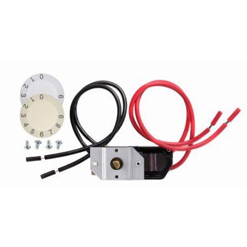Dimplex dtk-dp 17AMP Doppel Pole integrierte Verstellbare Thermostat-Kit, weiß/mandel (Pole Thermostat Kit)