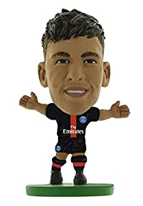 SoccerStarz SOC1181 Paris St Germain Neymar Jr-Home Kit (2019 Version)/Figuras, Verde