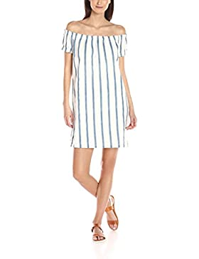 VERO MODA Damen Kleid Vmstripy Offshoulder Dress A