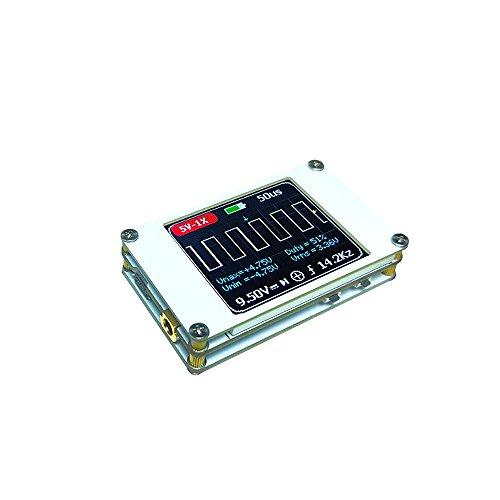 Preisvergleich Produktbild Walmeck Mini Digital Display Handheld Ultraleicht Oszilloskop von 1 MHz Bandbreite 5ms / s Sample Rate Oszilloskop-Kit mit eingebauter Lithium-Batterie
