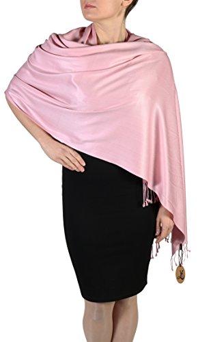 Dusty Pink York Shawls Pashmina ...
