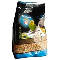 DAPAC - Comida mixtura con vitaminas para Periquitos y Exóticos 1Kg