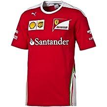 Ferrari F1–Camiseta para hombre Rojo rojo Talla:extra-large