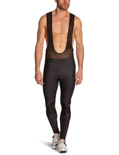 Odlo Herren Sporthose lang Tights long with suspenders Cushion, black, S, 421342