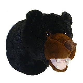 ADORE 12 Tahoe the Black Bear Plush Stuffed Animal Walltoy Wall Mount by Adore Plush Company