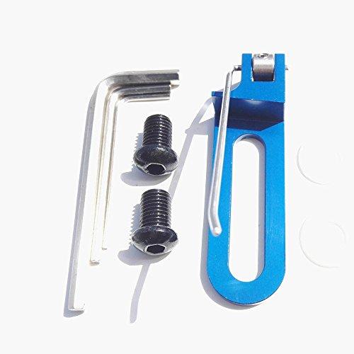 SHARROW Pfeilauflage Magnetisch Bogenpfeilauflage für Recurve Bögen Linke Hand Bogensport (Blau)