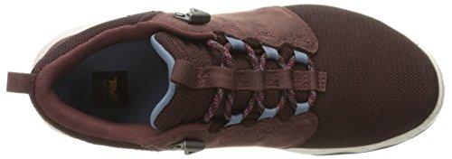 Teva Arrowood, Chaussures de Randonnée Basses Femme Violet (Mahogany/Mah)