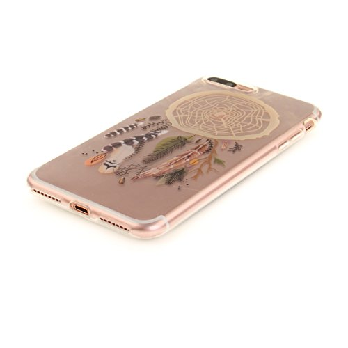 Felfy iphone 7 Plus Silikone Case,iphone 7 Plus Hülle,iphone 7 Plus Schutzhülle Ultra Dünnen Weiche Gel TPU Silikone Transparent Schutzhülle Bumper Case Handy Tasche Hülle für Apple iPhone 7 Plus 5.5  Campanula Farbe