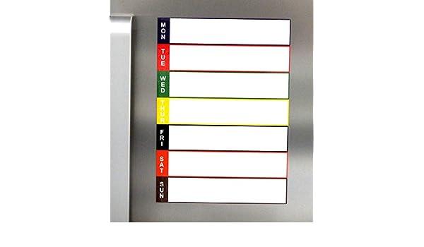 Kühlschrank Planer : Amazon magnetisches whiteboard kühlschrank planer trocken
