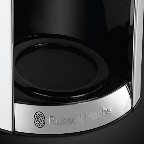 Russell Hobbs Luna Filter Coffee Maker 1.8 Litre Programmable Coffee Machine With Timer & Auto Keep Warm, Copper, 24320