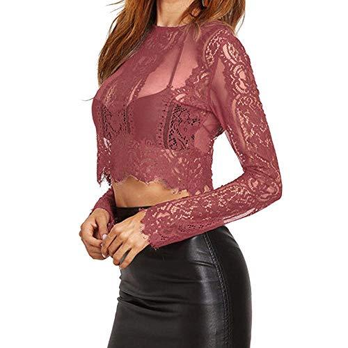 VJGOAL Moda Casual Mujer Color sólido Cuello Redondo