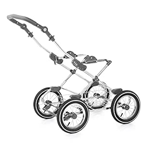 BabyStyle Prestige 2 Classic Chassis Travel System, Chrome   5