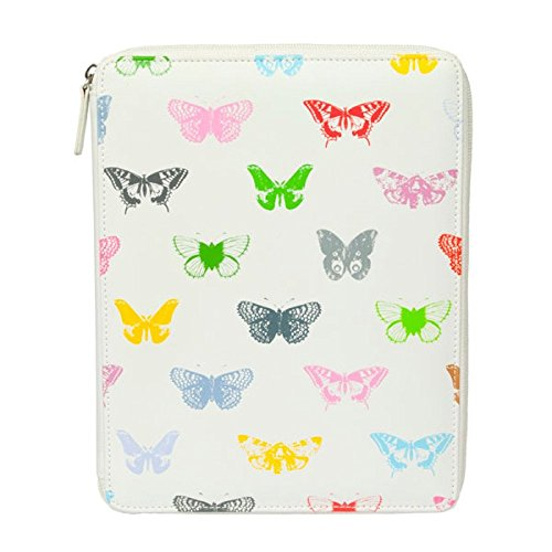 Kindle Fall Butterfly (Soul Lily Mae iPad Fall weiß Butterflies)