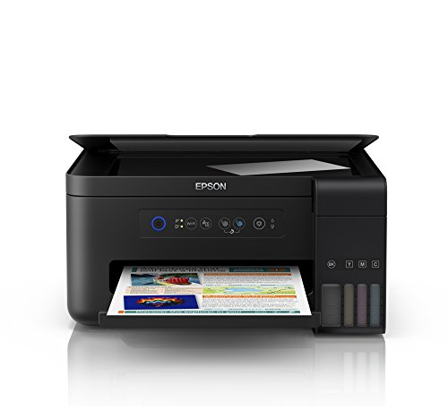 Epson EcoTank ET-2700. Tecnología de impresión: Inyección de tinta, Impresión: Impresión a color. Resolución máxima: 5760 x 1440 DPI, Velocidad de impresión (color, calidad normal, A4/US Carta): 15 ppm. Copiando: Copia a color, Escaneando: Escaneo a ...