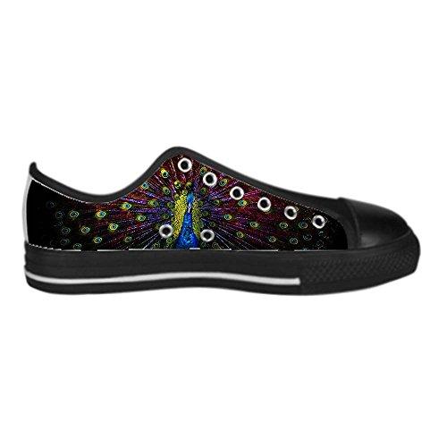 Dalliy sch?ne pfau Men's Canvas shoes Schuhe Lace-up High-top Sneakers Segeltuchschuhe Leinwand-Schuh-Turnschuhe C