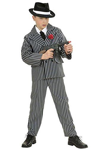 Jungen 1920er Gestreiften Gangster Anzug Kostüm Medium (8-10 ()