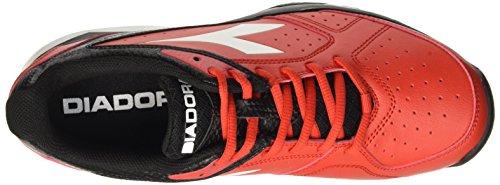 Diadora S.Comfort Sl Vi Ag, Chaussures de Tennis Homme Multicolore - Multicolore (C0639 Rosso Ferrari/Bianco)