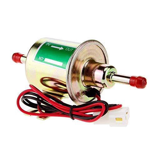 Yulakes, Pompa per carburante universale elettrica per auto a benzina, diesel e elettriche, 12 V