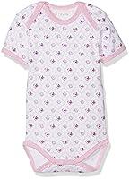 Sense Organics Baby Girls Yvon Bodysuit, Pink (AOP Birds), 0-3 Months (Manufacturer Size:56 cm)
