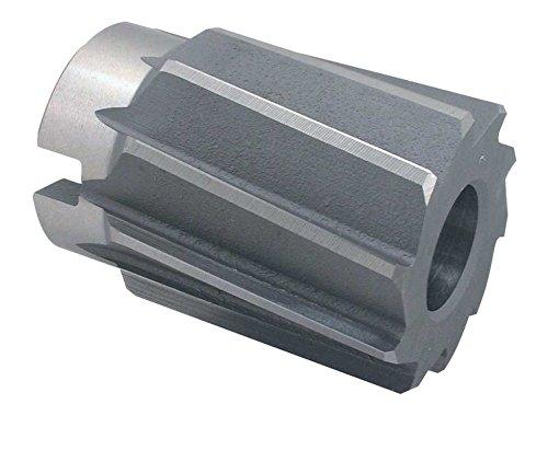 HSS Aufsteckreibahlen, DIN 219 B, spiralgenutet, mit kegeliger Bohrung 1:30 und Quernut DIN 219 B: Ø 90,0 H7 x 100/71 mm