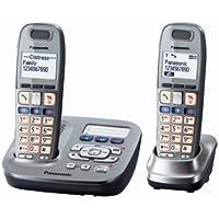 Panasonic KX TG6592GM - teléfono inalámbrico - sistema de respuesta con ID de llamadas