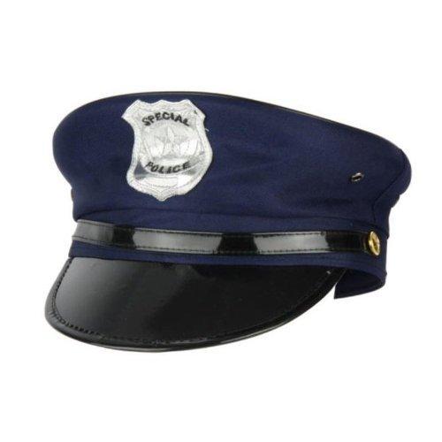 Polizeimütze in dunkelblau