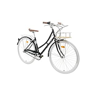 41iUbIs3SuL. SS300  - Fabric City Comfort Bike with Basket- Ladies Duth Style, Shimano Internal 3 Speeds, 14kg