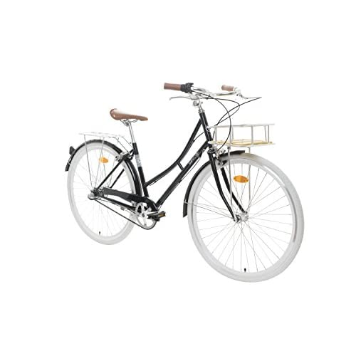 41iUbIs3SuL. SS500  - Fabric City Comfort Bike with Basket- Ladies Duth Style, Shimano Internal 3 Speeds, 14kg