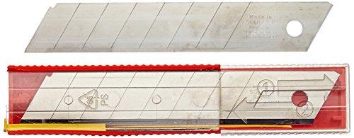HaWe Lames sécables Carquois, Lot de 10, 18 mm, 0401.8