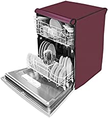Dream Care Waterproof Dishwasher Cover For Bosch SMS60L18IN Free-Standing 12 Place Settings Dishwasher-Maroon