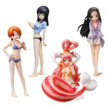 Half Age Characters One Piece Heroine (Lot de 8 figurines)