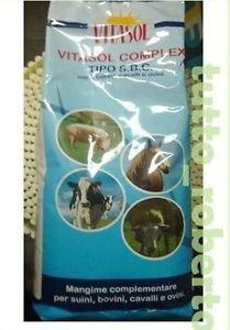 VITASOL COMPLEX Tipo SBC 2 kg.allevamento cavalli maiali mucche integratore