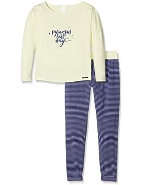 Skiny Mädchen Zweiteiliger Schlafanzug Cosy Night Sleep Pyjama Lang