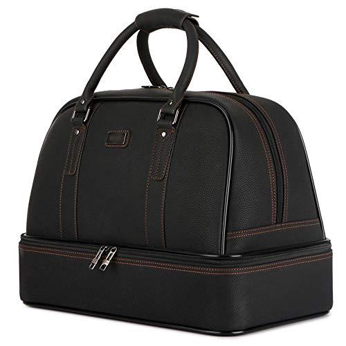 SongMyao Tasche wasserdichte Leder Golf Bekleidung Tasche Golf Handtasche Damen Herren Outdoor Sports Travel Gym Handtasche Herren Doppel Handtasche Golf Seesack (Farbe : C2, Größe : 45 * 28 * 33cm)
