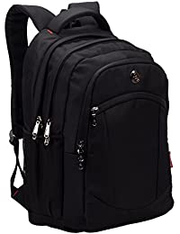 COSMUS Multipurpose Backpack Bag - Cosmus Madison Black 33L waterproof Bag With laptop compartment