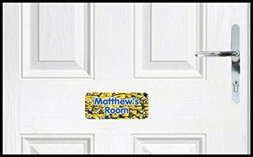 Despicable Me Minion Kinder Personalisierte Schlafzimmer Türschild (ss30039)