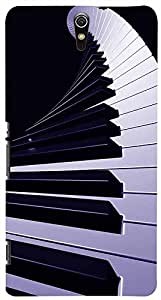 PrintVisa Music Piano Abstract Case Cover for Sony Xperia C5 Ultra