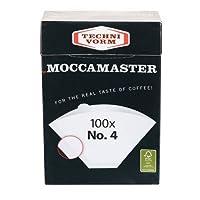 Technivorm #4 Coffee Filters 85022 , Box of 100