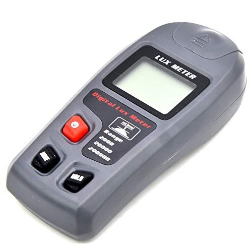 HoganeyVan MT-30 Digital Lux Meter 200,000 Lux Digital LCD Backlight Pocket Light Meter Lux/FC Measurer Tester Support Data Hold Pocket-batterie-tester