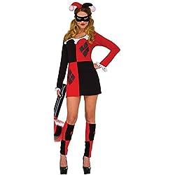 Rubies Harley Quinn Jester Dress S/M