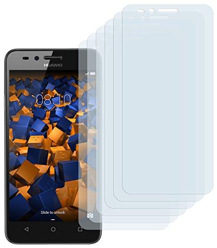 mumbi Schutzfolie kompatibel mit Huawei Y3 II Folie klar, Bildschirmschutzfolie (6x)