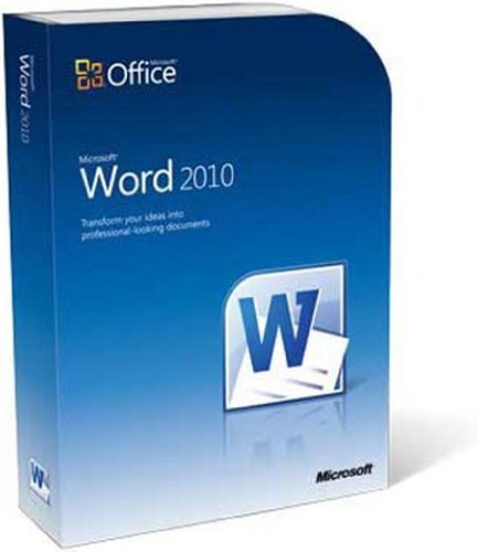 Microsoft Word 2010 - 1PC/1User
